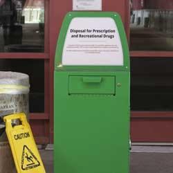 Instalan cajas de amnistía para tirar tus drogas