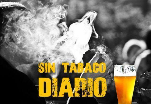 DEJANDO DE FUMAR: Sin tabaco DIARIO